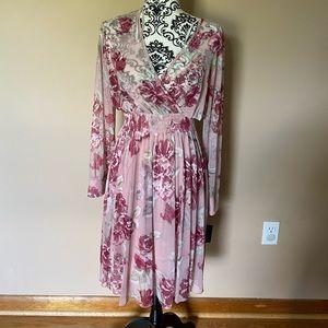 Enfocus Studio Pink Floral Dress